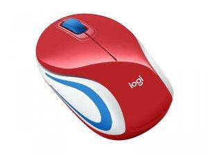 Logicool Wirelesss Mini Mouse M187r レッド