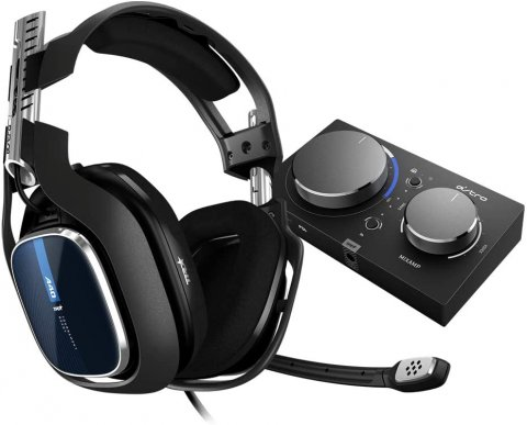 Logicool G Astro A40 TR Headset + MixAmp Pro TR