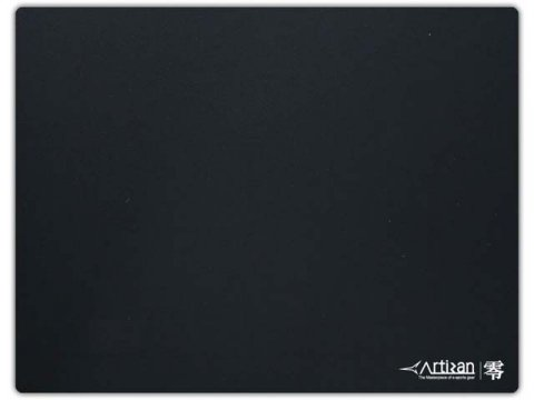 ARTISAN 零 ZR-XS-BK-L ブラック 01 ゲーム ゲームアクセサリー マウスパッド