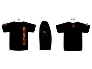 DeToNator オリジナル Tシャツ Mサイズ ブラック
