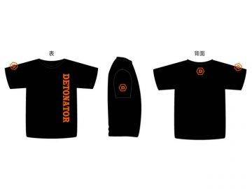 DeToNator Original T-shirts M-size Black 01 ゲーム その他・趣味 ゲーム関連グッズ APPAREL