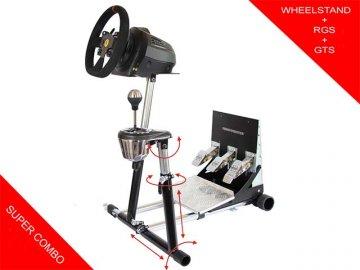 Wheel Stand Pro for T300RS/TX/T150/TMX + 01 ゲーム ゲームアクセサリー ゲーミングデスク・シート