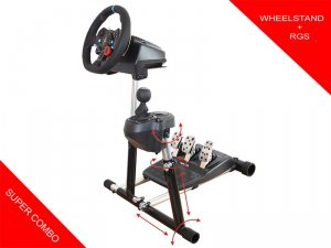 Wheel Stand Pro for Logitech G29/G920/G27/G25 Racing Wheel + RGS - DELUXE V2
