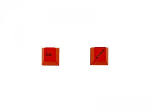 PBTカラーアクセサリーキーキャップ 赤ESC/ARCHISSキー