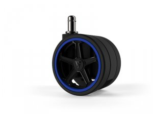 Vertagear Racing Series Opt Penta RS1 Casters 65mm (5pack) Blue