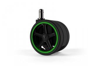 Vertagear Racing Series Opt Penta RS1 Casters 65mm (5pack) Green