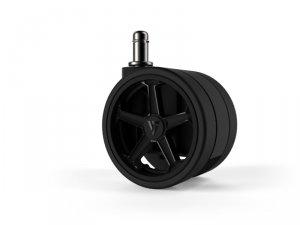 Vertagear Racing Series Opt Penta RS1 Casters 75mm (5pack) Black