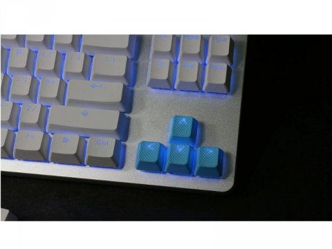 th-rubber-keycaps-neon-blue-8 01 ゲーム ゲームデバイス キーボード