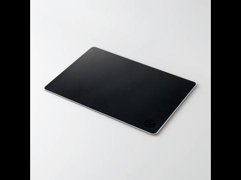 ゲーミングマウスパッド(アルミタイプ) ブラック