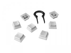 HyperX Double Shot PBT Keycaps White