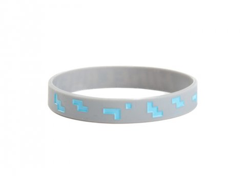 Minecraft Diamond Bracelet (L)
