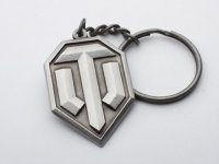 World of Tanks Logo Keychain