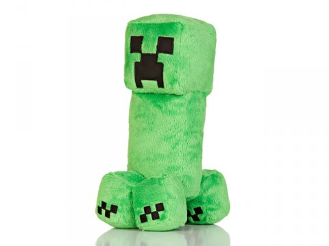 Minecraft 10.5 Creeper Plush W Hang Tag
