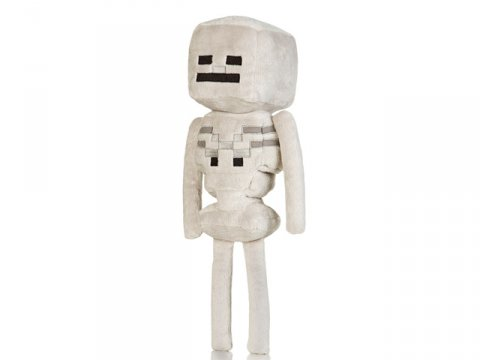 Minecraft 12 Skeleton Plush W Hang Tag