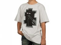 Minecraft Enderman Inside Youth Tee(M)