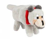 Minecraft 15 Wolf Plush With Hang Tag