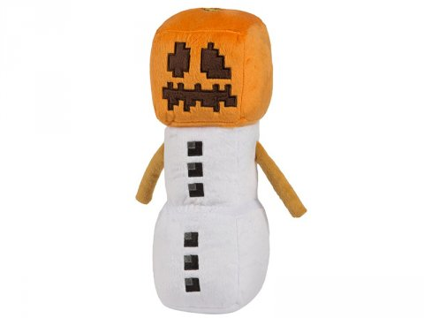 Minecraft 11.5 Snow Golem Plush W Hang