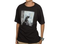 Minecraft One Wolf Moon Youth Tee (M)