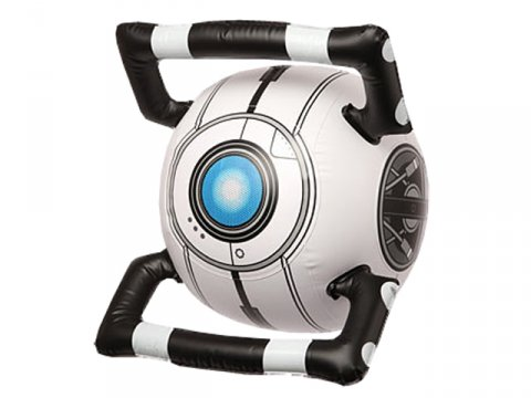 Portal 2 Inflatable Personality Core - W 01 ゲーム その他・趣味 ゲーム関連グッズ ACCESSORIES