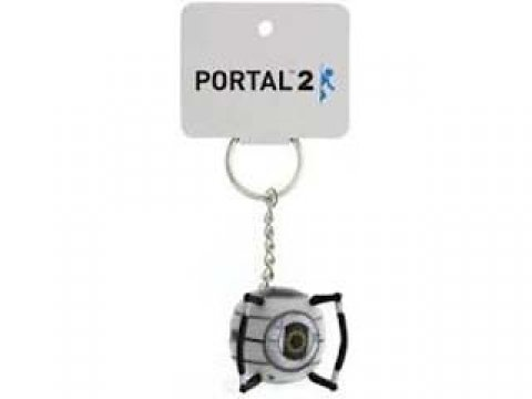 Portal 2 Vinyl Keychains Space Sphare 01 ゲーム その他・趣味 ゲーム関連グッズ ACCESSORIES
