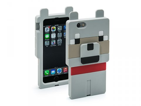 Minecraft Wolf Character Case iPhone6