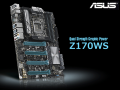 M.2/NVMe PCIe RAIDも構築可能、PCI Express 3.0 x16スロットを4本搭載したZ170マザーボード「ASUS Z170-WS」