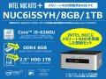 メモリーとHDD搭載済みのお得なSkylake Core i5搭載「NUC」ベースキットがアークにて販売中