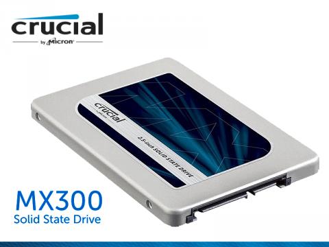 Micron社製3D NAND採用2.5インチSSD「Crucial MX300」シリーズに1TBモデルを含む追加ラインナップ登場