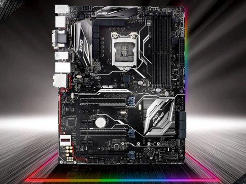 ASUS PRO GAMINGシリーズZ170搭載ATXマザーボードがLED発光機能AURA対応した「Z170 PRO GAMING/AURA」
