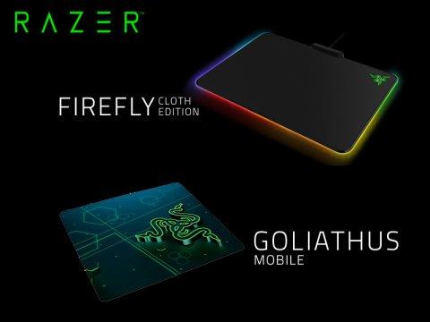 Razerから、布製マウスパッドの新モデルが発売