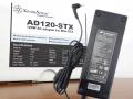 SilverStone、Mini-STXマザーボード用120W ACアダプター「AD120-STX」