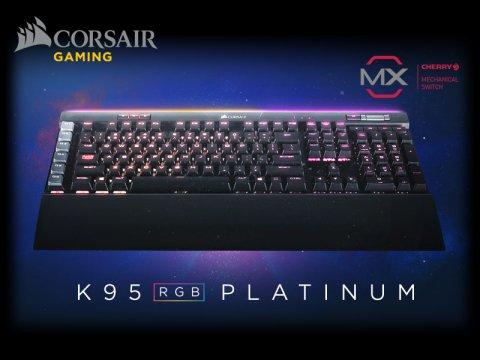 Corsair製ゲーミングキーボードのフラグシップモデル「K95 RGB PLATINUM RAPIDFIRE」が発売 - アークSTAFFファーストインプレション