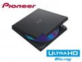 UHD BD再生に対応するポータブルBlu-rayドライブ「PIONEER BDR-XD06J-UHD」