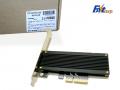 新カラーで排熱を強化したM.2 SSD PCI-E接続変換ヒートシンク付きアダプター「Sintech ST-M2PCE4XB」