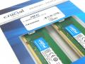 Crucial、Micron DDR4-2666ネイティブDRAM搭載16GBモジュールを採用する64GBキット登場