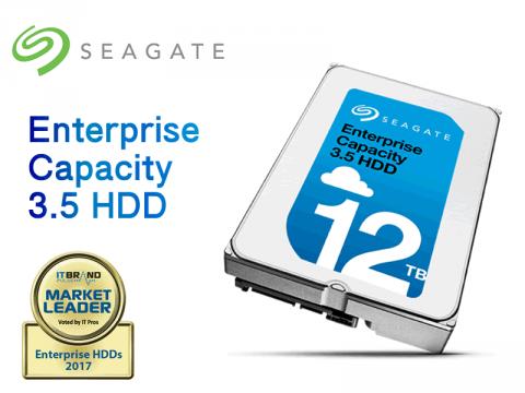 Seagateも12TB到達、3.5インチ大容量HDD「ST12000NM0007」