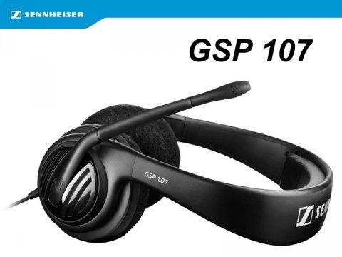 Sennheiser Gamingヘッドセットの入門モデル「GSP 107」が発売