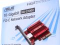 ASUSからAquantia AQC107採用、10Gbps対応PCI-Express x4接続LANカード「XG-C100C」