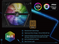 ASUS AURA SYNC対応RGBイルミネーションファン搭載の低価格ATX電源「RAIDMAX Thunder RGB」シリーズ販売開始