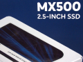 Micron 3D 64層3D NAND採用2.5インチSSD 「Crucial MX500」シリーズ登場