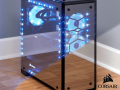 コルセアの魅せるPCケースに鏡面ガラスバージョン「570X RGB Mirror Black」登場