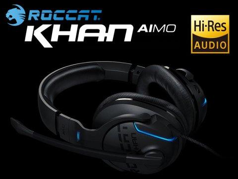 7.1chに対応したハイレゾゲーミングヘッドセット「Khan AIMO」がROCCATから発売