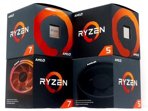 AMD第2世代Ryzen 2000シリーズプロセッサー「Ryzen 7 2700X」、「Ryzen 5 2600X」など4モデル販売開始