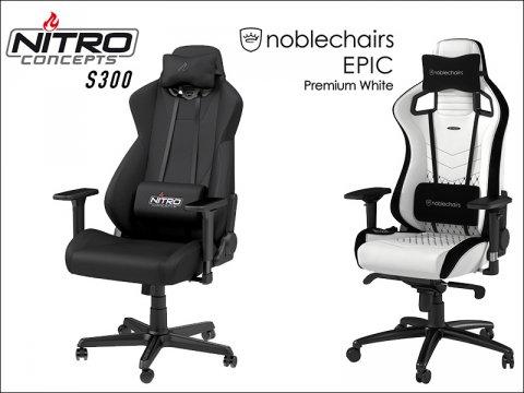 ドイツ発のゲーミングチェアブランド「NITRO CONCEPTS」と「noblechairs」の新製品取り扱いを開始