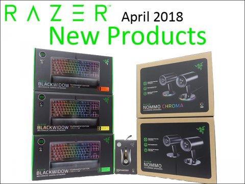 Razerから、PC向けスピーカーを含めたゲーミングデバイスが発売