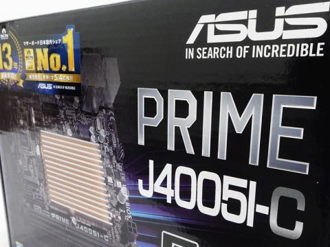 ファンレスGemini Lake世代SoC intel Celeron J4005搭載Mini-ITXマザーボードがASUSから販売開始