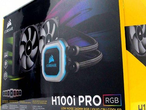 RGBとファンレスオペレーションに対応した240mmサイズ水冷一体型ユニット「H100i PRO RGB」がCorsairから発売