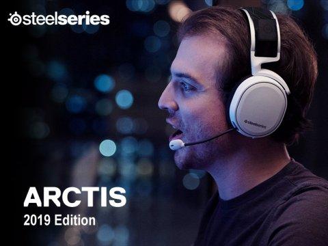 SteelSeriesから、Arctisヘッドセットの改良モデル「2019 Edition」が発売