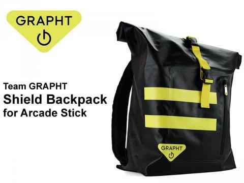 格ゲープレイヤーの必需品!? アケコン専用バッグ「Team GRAPHT Shield Backpack for Arcade Stick」が発売