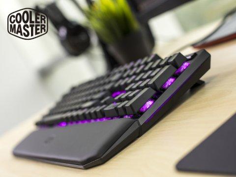 Cooler Master から、コンパクトデザインのメカニカルゲーミングキーボード「MasterKeys MK750」が発売